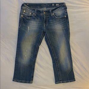Miss Me Capri Stretch Jeans
